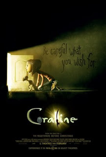 Coraline poster and link to IMPAwards