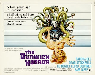 Dunwich Horror poster and DVD link