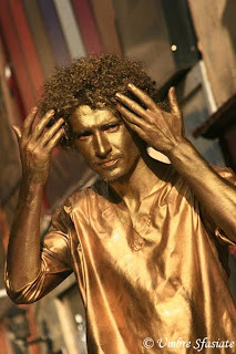 The gold man