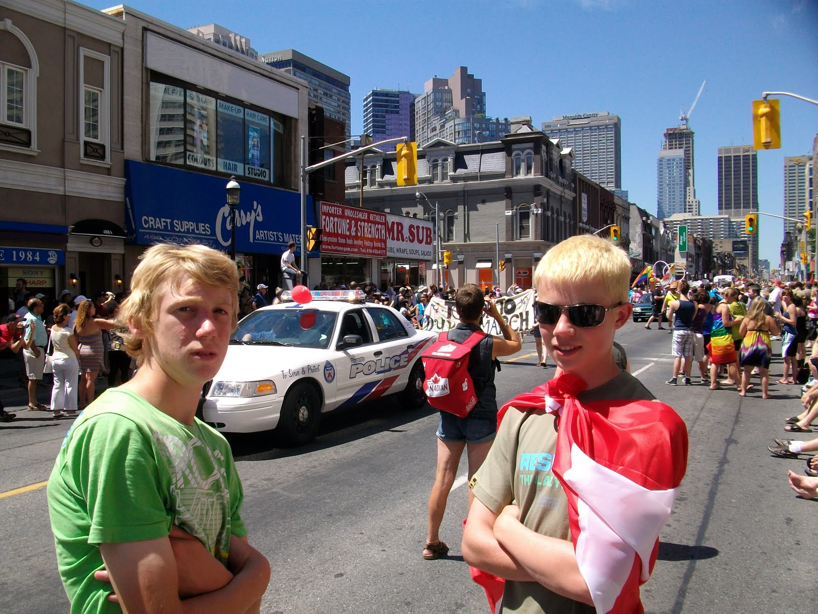 Toronto Gay Pride 2008 - YouTube
