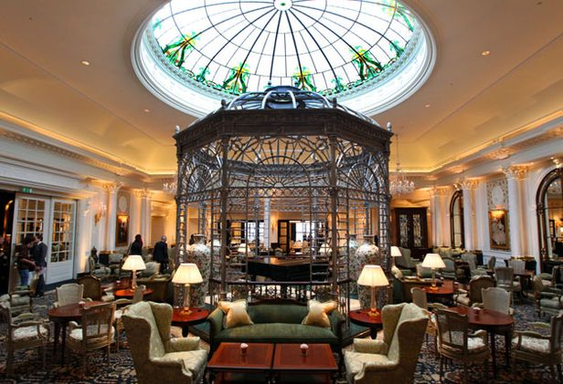 Thames Foyer Savoy Hotel : London bars keith barker main drinks dry
