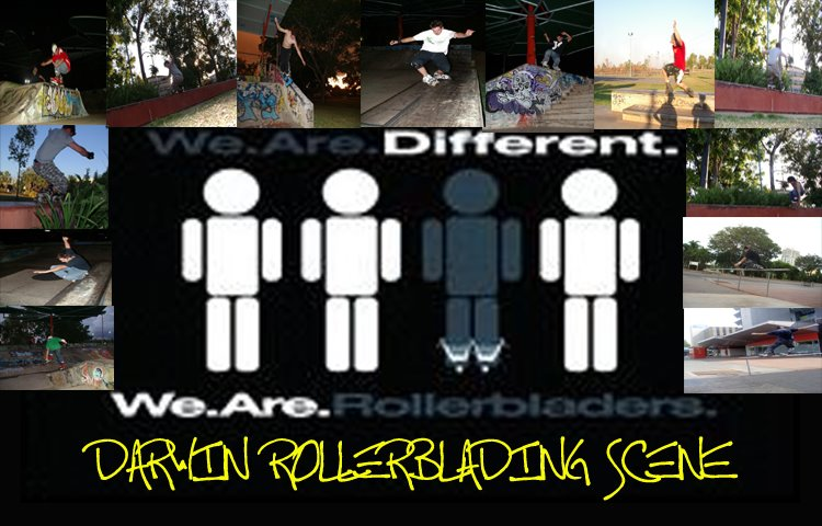 Darwin Rollerblading Scene