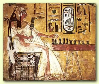 ancient egyptian diary: games and entertainment, Powerpoint templates