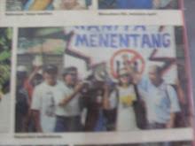 sahabat lama Arwah Tan Abdullah(kanan sekali)
