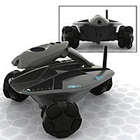 WiFi ferngesteuerter Roboter mit Webcam und Mikrofon. Ein exklusives Gadget der Extraklasse.