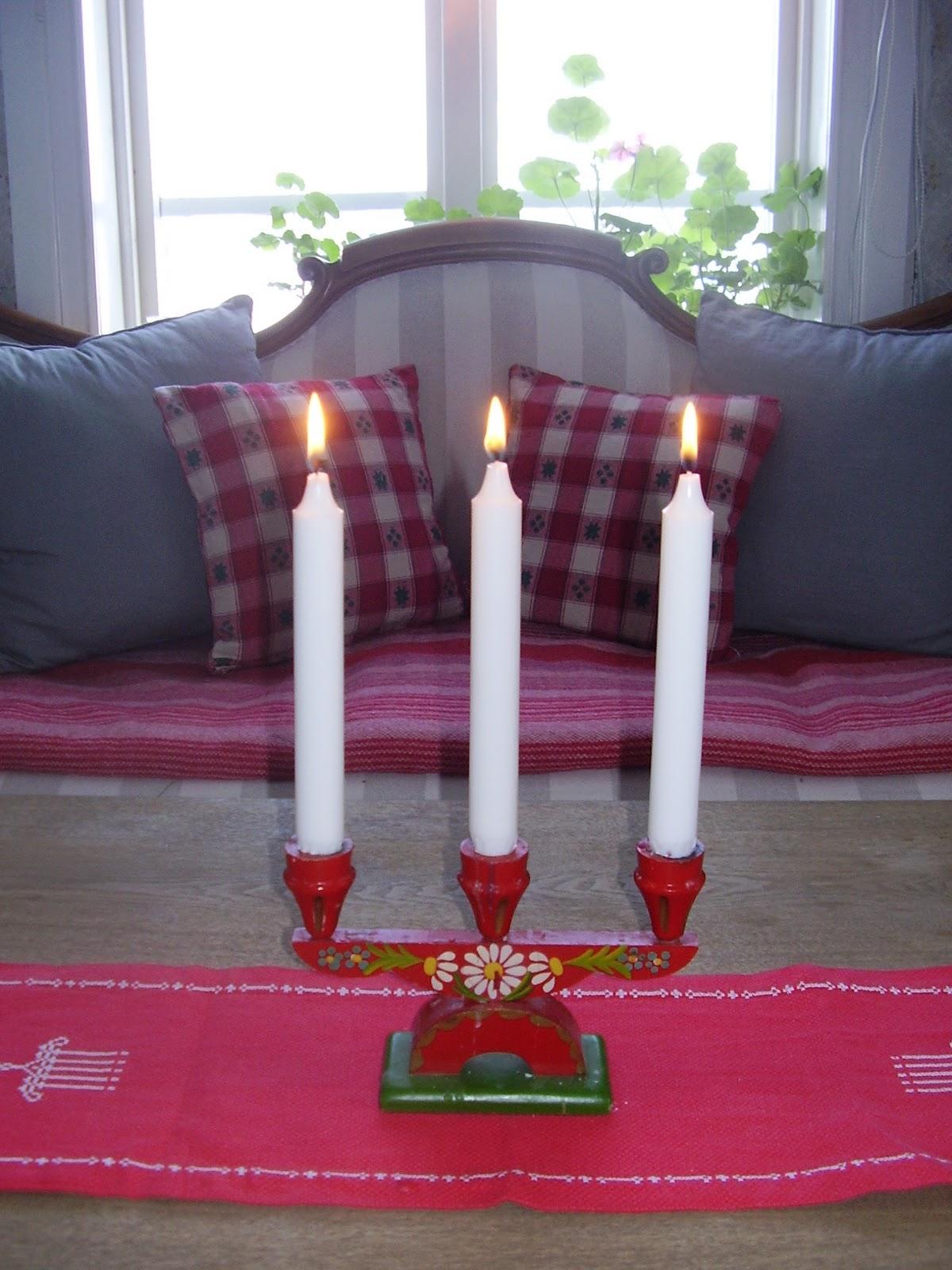 Elins stuga: jul i stugan
