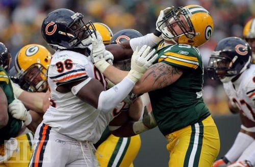 The Bears face the Packers for