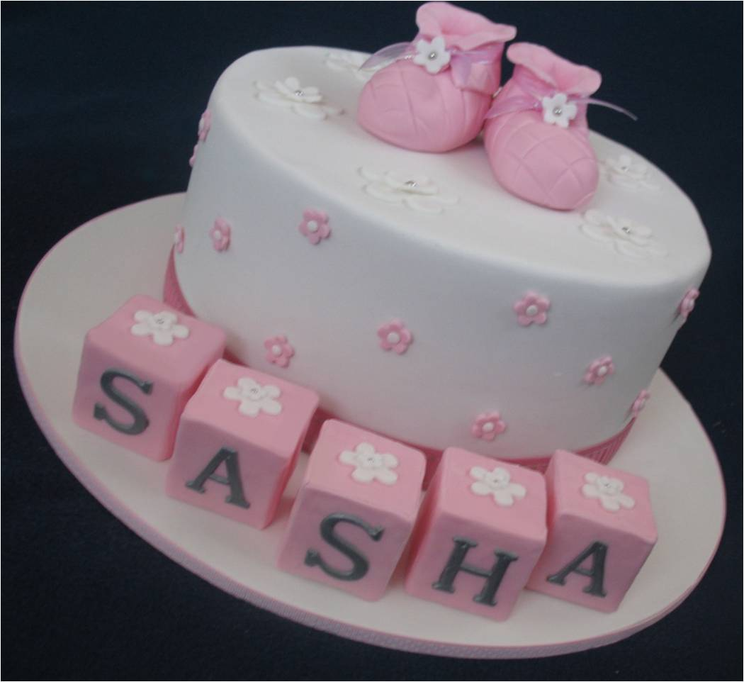 Images Of Christening Cake : Blissfully Sweet: A Booties Christening Cake