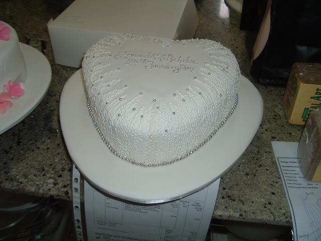 Wedding Cake Enchantress: Heart shaped cake supplier ...