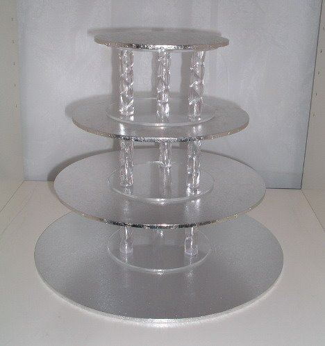 Wedding Cake Enchantress Cup Cake Stands for sale and hire