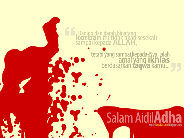 dalil, tujuan, ikhlas, ibadah qurban, korban, aidiladha, al-hajj