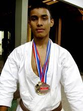 Sidney - Campeão paraense 2009 em Kata e En bu e 3º em Kumite
