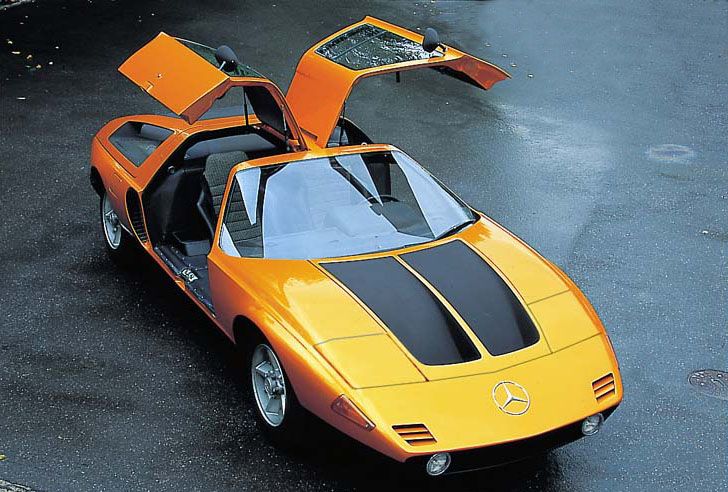 2010 on the Mercedes-Benz C111