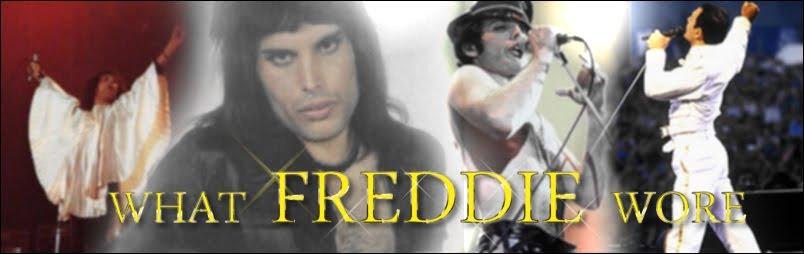What Freddie Wore