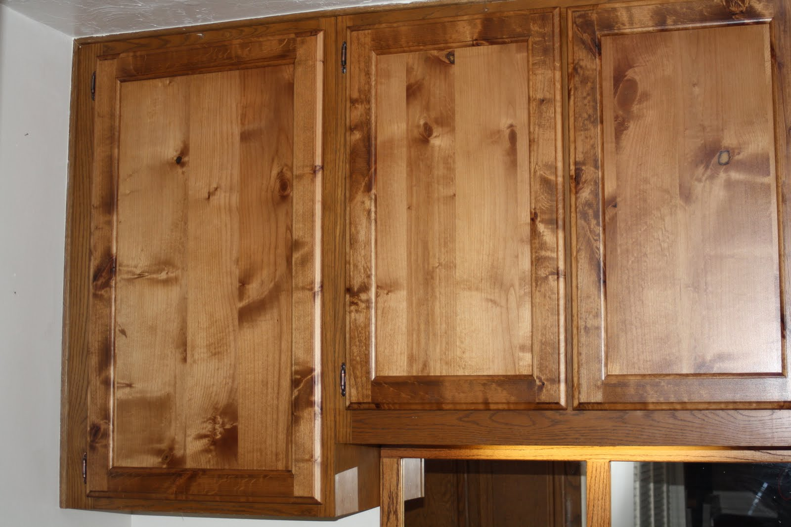 Eric Gallup Custom Cabinets Knotty Alder Cabinet Doors