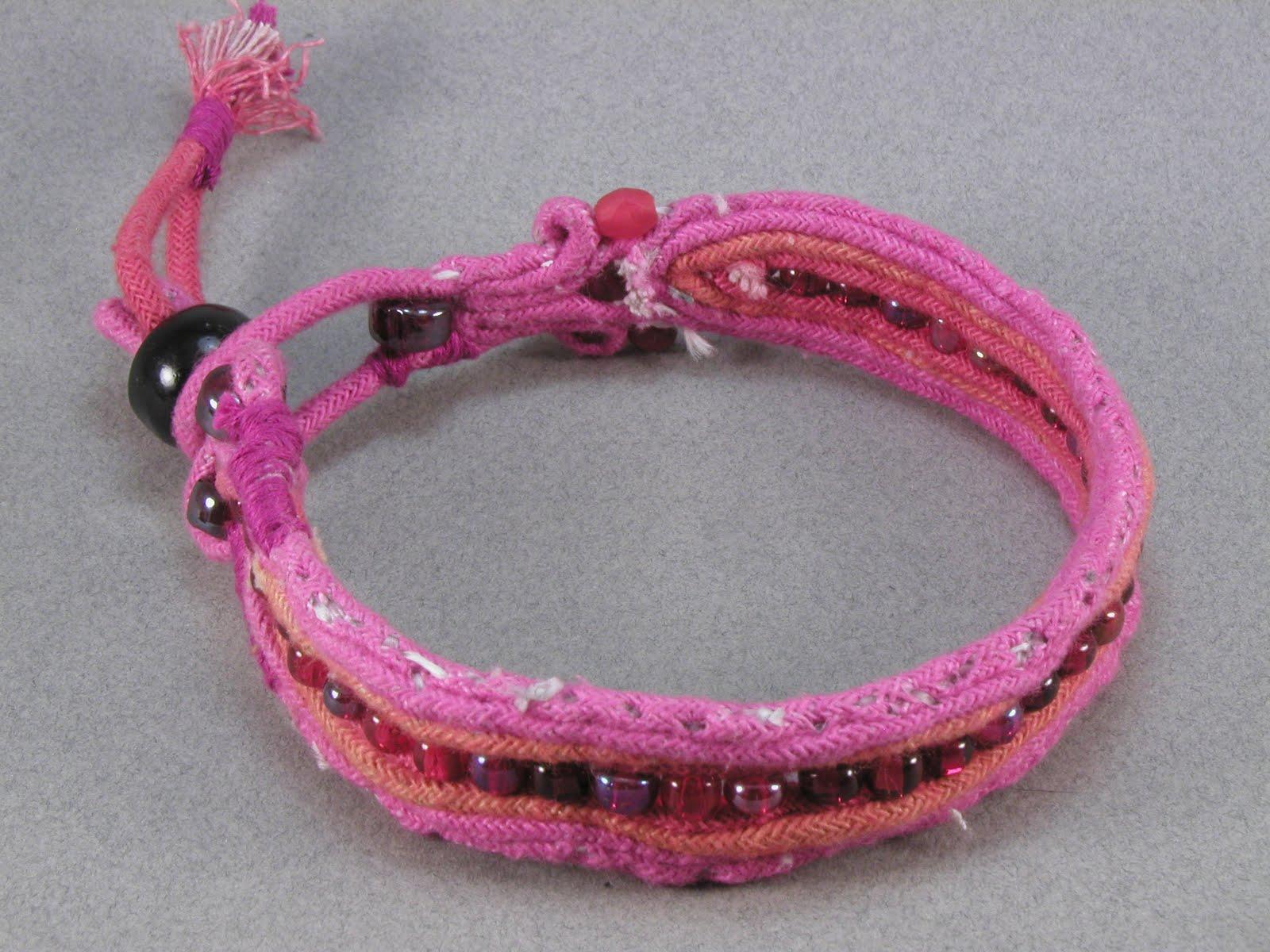 beaded ankle bracelet instructions
