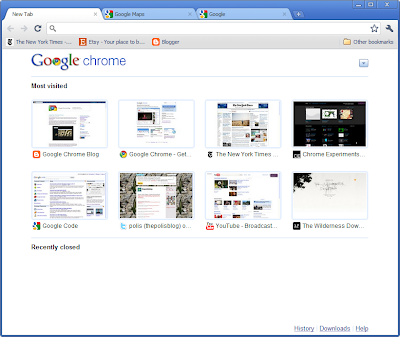 Back to the future: two years of Google Chrome
