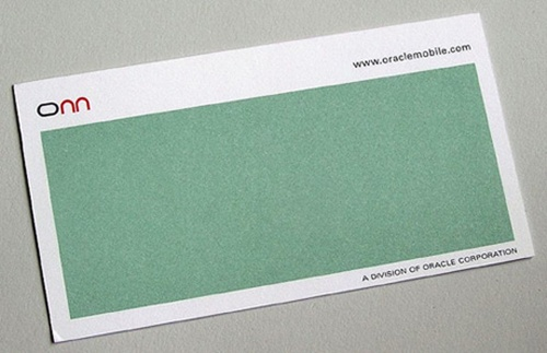 Cool and effective business card designs 2 is this scratch and sniff or just generous use of white space colourmoves