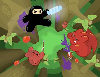 Ninjatown artwork