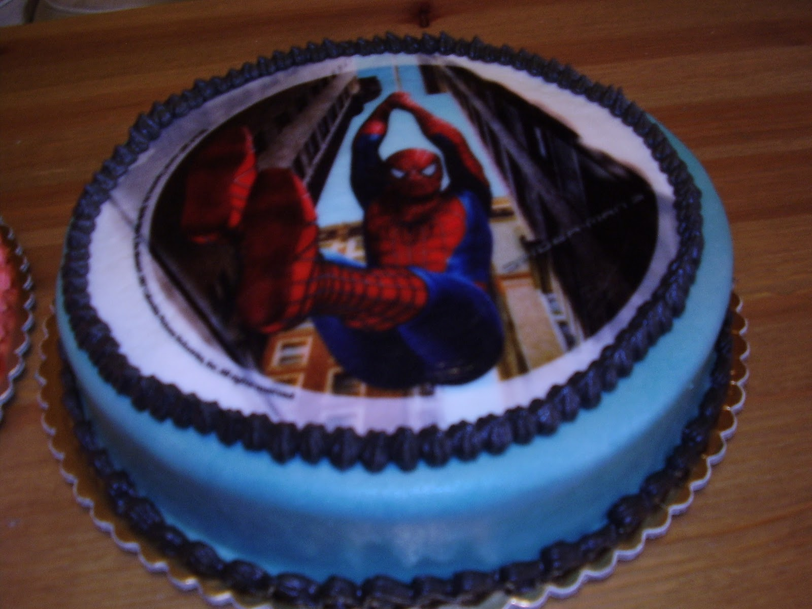 Birthday Cake Designs Spiderman : Dream of Cakes: Spiderman Cake (Easy to make)