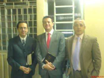 Eliel Gaby, Eu e Moisés Vieira.