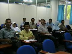Guru MTs peserta S2 Matematika UGM Angkatan 2007