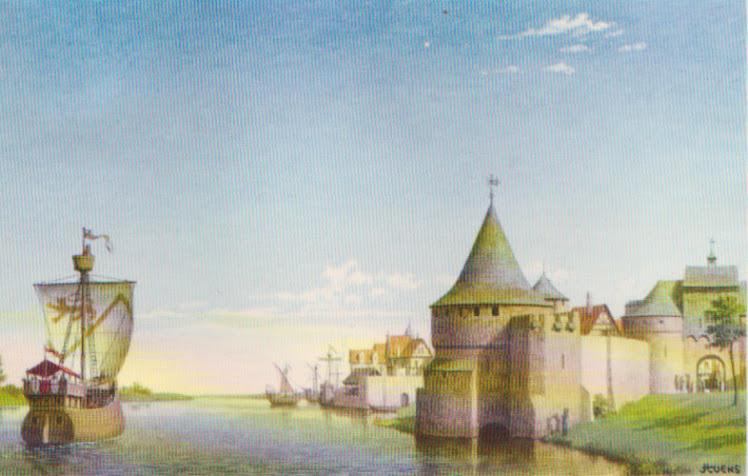 Haven en schip