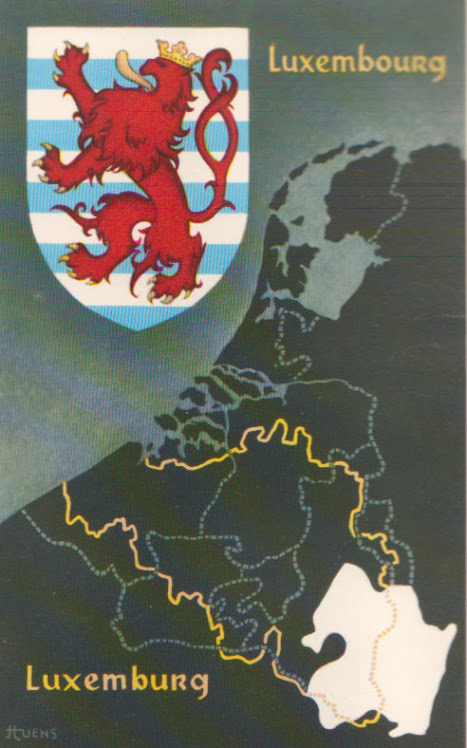 Het wapen van Luxemburg