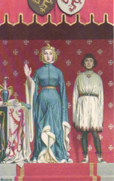 Joanna en Wenceslas