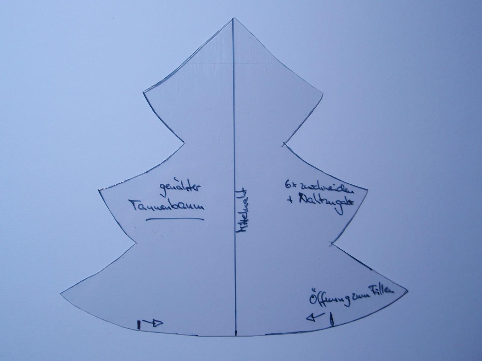Großartig 3d Weihnachtsbaum Vorlage Galerie ...