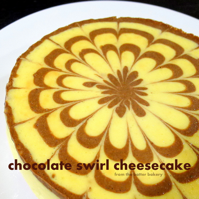 swirl orange chocolate swirl chocolate swirl cheesecake chocolate ...