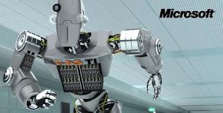 Esse é o robô que te liga. efetue o cadastro em um dos banners da microsoft e ele te conta um segrinho pelo celular