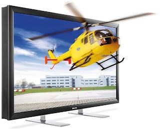 Tv do futuro exibe imagem 3D sem a necessidade do uso de um óculos...