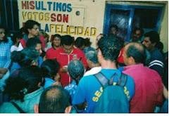 Alcalde del Mcpio. Libertador junto a las autoridades parroquiales comparten con vecinos(as) de San