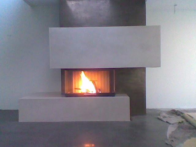 design handwerk kamin beton cire midas metall. Black Bedroom Furniture Sets. Home Design Ideas