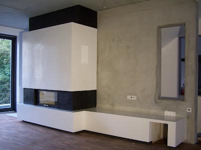 design handwerk kamin beton cire. Black Bedroom Furniture Sets. Home Design Ideas
