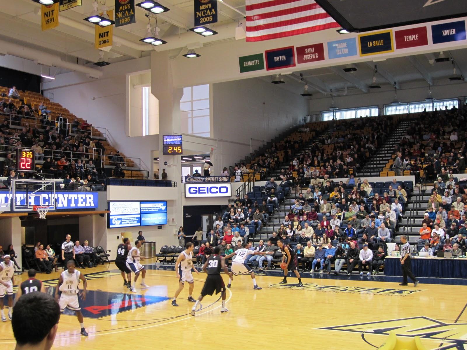 gw admissions student blog: gw men's basketball