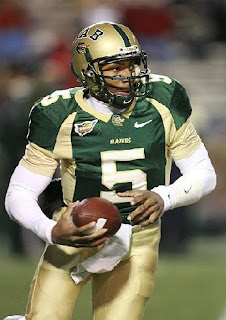 Joe Webb running the ball at the University of Alabama-Birmingham