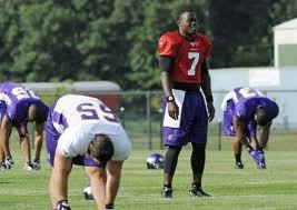 Minnesota Vikings stretching during last year's training camp