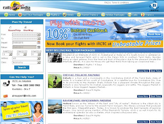IRCTC launches Online Flight Ticket Booking at Air.Irctc.co.in