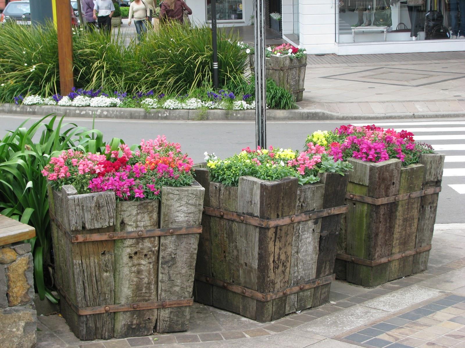 fotos de jardim florido : fotos de jardim florido: , com banquinho. Cada uma era de um jeito, e sempre convidativa