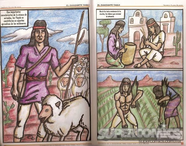 BLOQUE. VII. TEMA: Grupos etnicos ( yaquis)  La-danza-del-yaqui-2