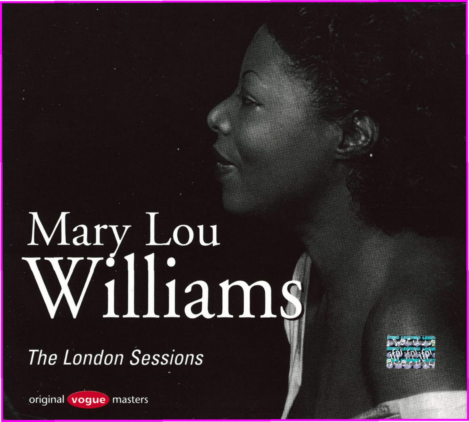 The Cover Project Mary Lou Williams The London Sessions