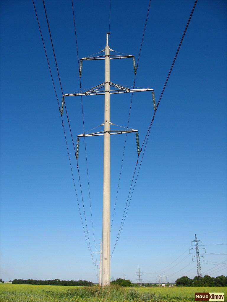 Промежуточный столб для электричества своими руками