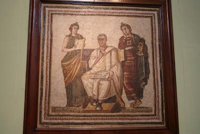 El Museo del Bardo (فإن الشاعر) Sala de los retratos de emperadores romanos