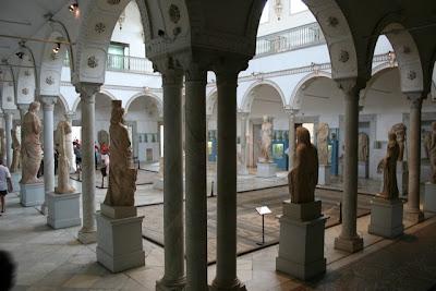 El Museo del Bardo (فإن الشاعر) Sala de la Cartago romana