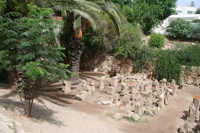 Cartago(قرطاج) El Thopet; santuario de Tanit y Baal Hammon
