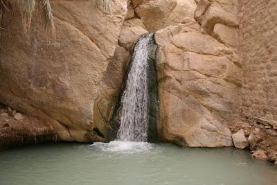 Cascada en el Oasis de Chebika