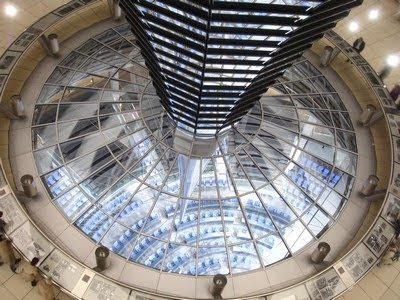 Interior de la Cúpula de Cristal - Reichstag