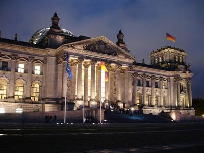Fachada princial de Reichstag (Bundestag)